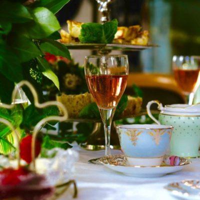 Afternoon Tea Table Decor Fiz Weddings