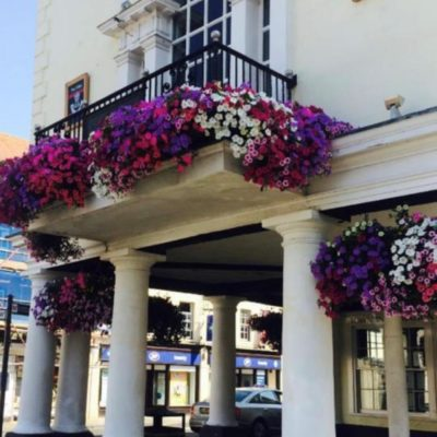 Town Hall Floral Display
