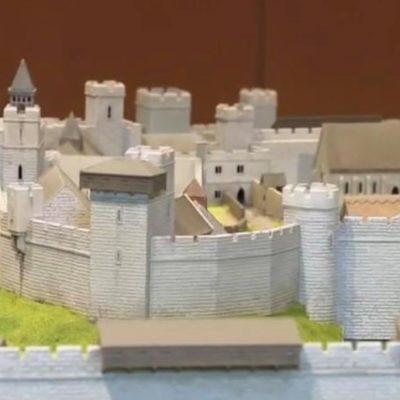Wallingford Castle Model 2