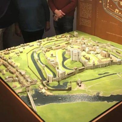 Wallingford Castle Model 3