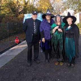 Costumed Staff for the Cholsey and Wallingford Railway