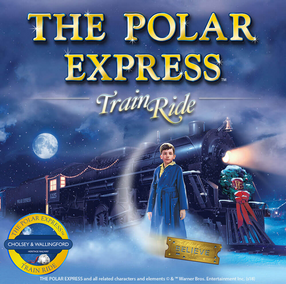 The Polar Express Train Ride Event Poster