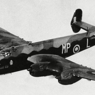 Bomber Halifax Royal Air Force World War
